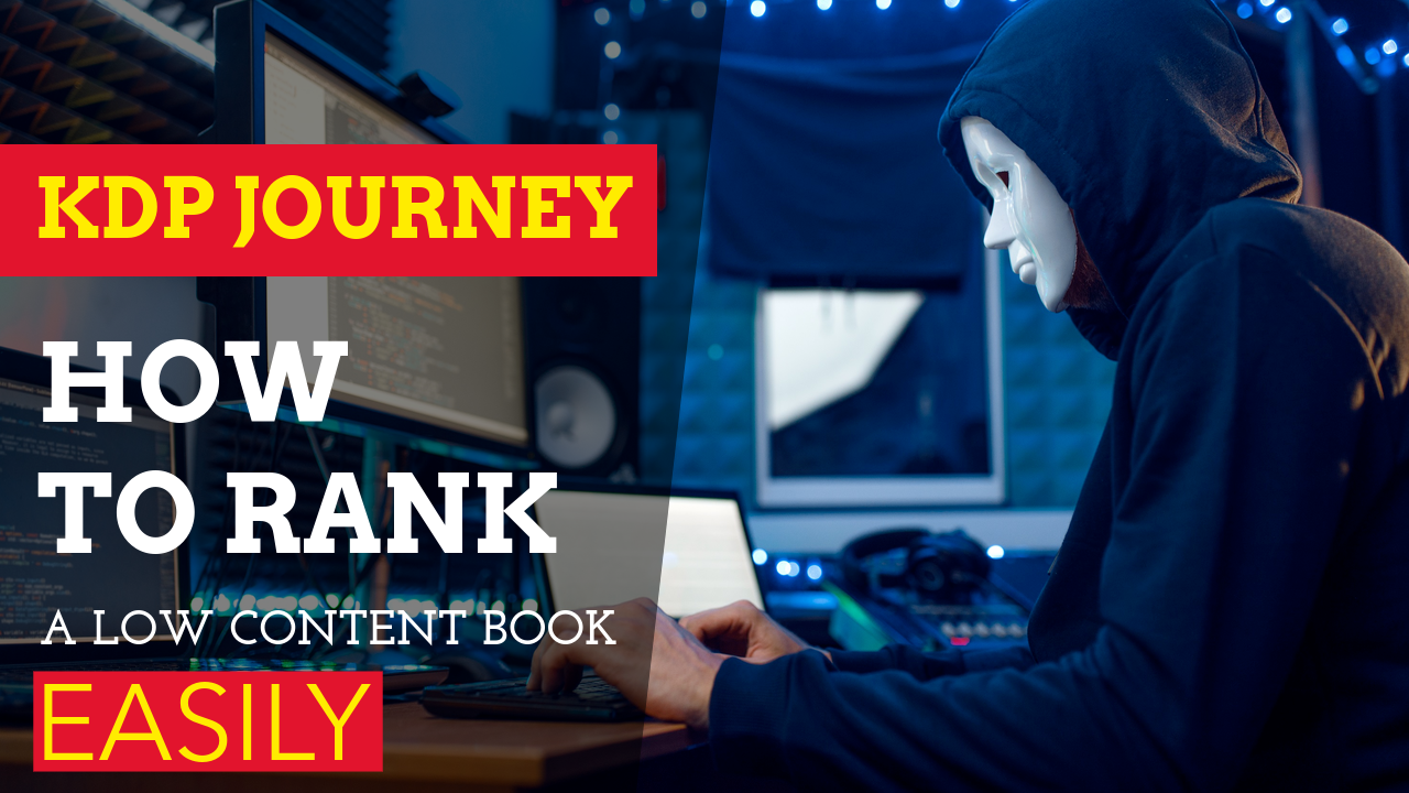 How to rank low content book easily